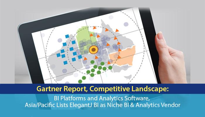 gartner report competitive landscape bi platforms and analytics