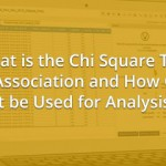 What is the Chi Square Test of Association and How Can it be Used for Analysis?