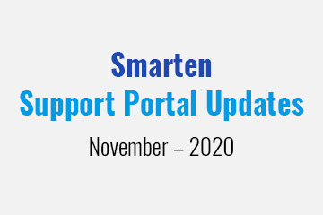 smarten-support-portal-updates-november-2020