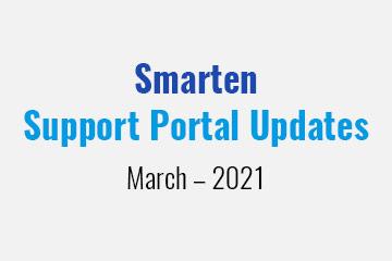 smarten-support-portal-updates-march-2021