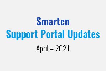 smarten-support-portal-updates-april-2021