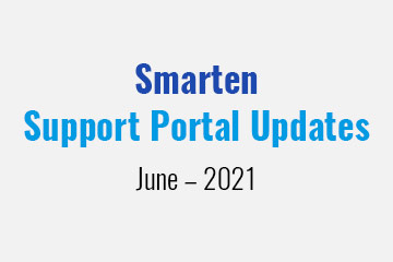 smarten-support-portal-updates-june-2021