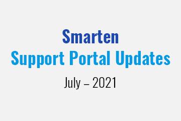 smarten-support-portal-updates-july-2021
