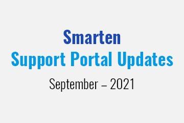 smarten-support-portal-updates-september-2021