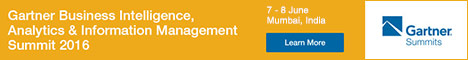 Gartner Business Intelligence, Analytics & Information Management Summit 2016