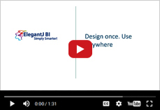 How Design once,  use anywhere technology works in ElegantJ BI